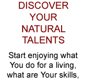 Discover Your Natural Talents